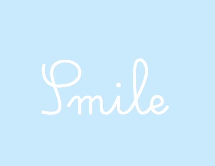 Smile White On Light Blue Light Blue Aesthetic Blue Quotes Blue Aesthetic