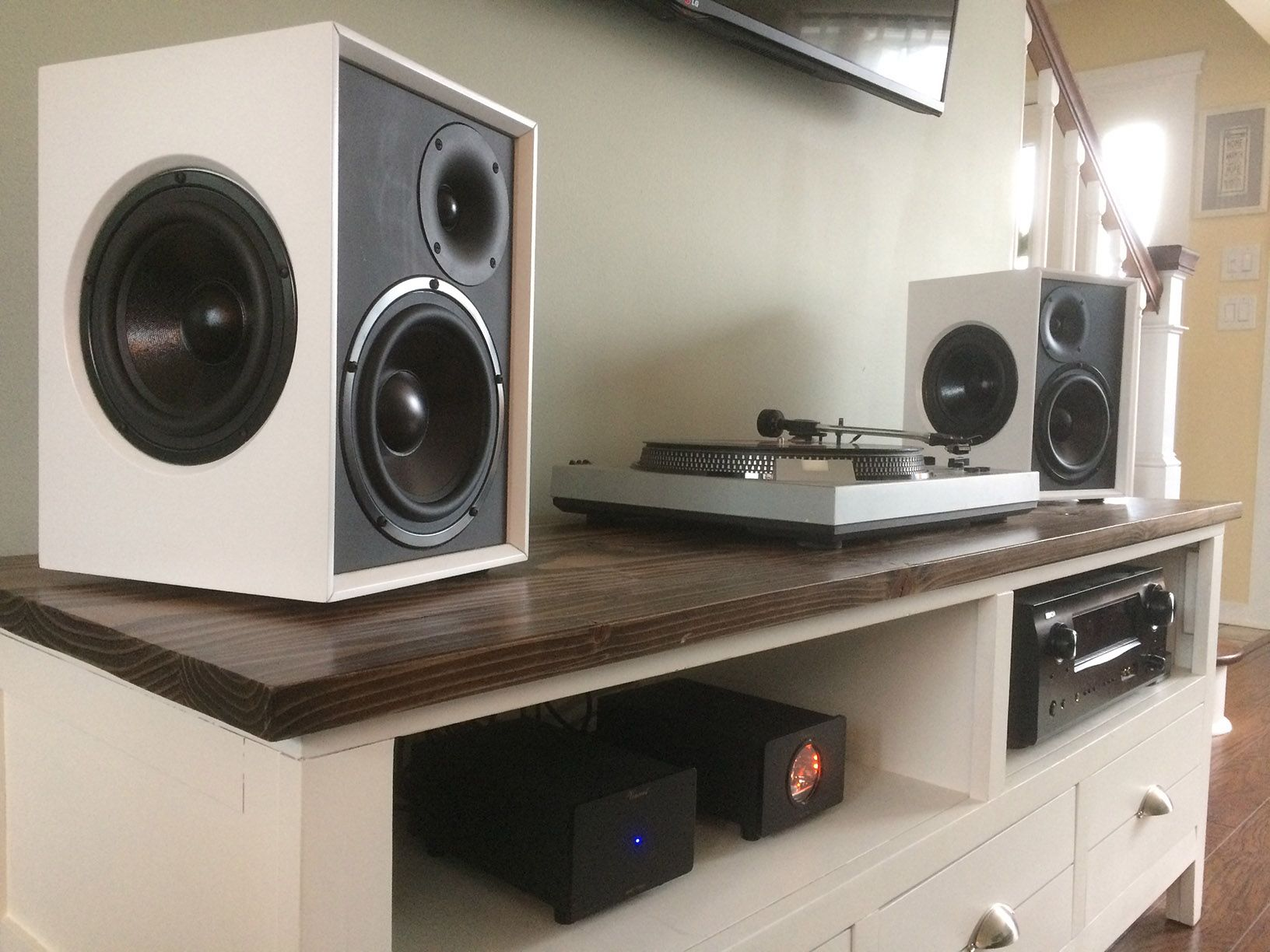 MTA Speaker projects, Bookshelf speakers, Audio room