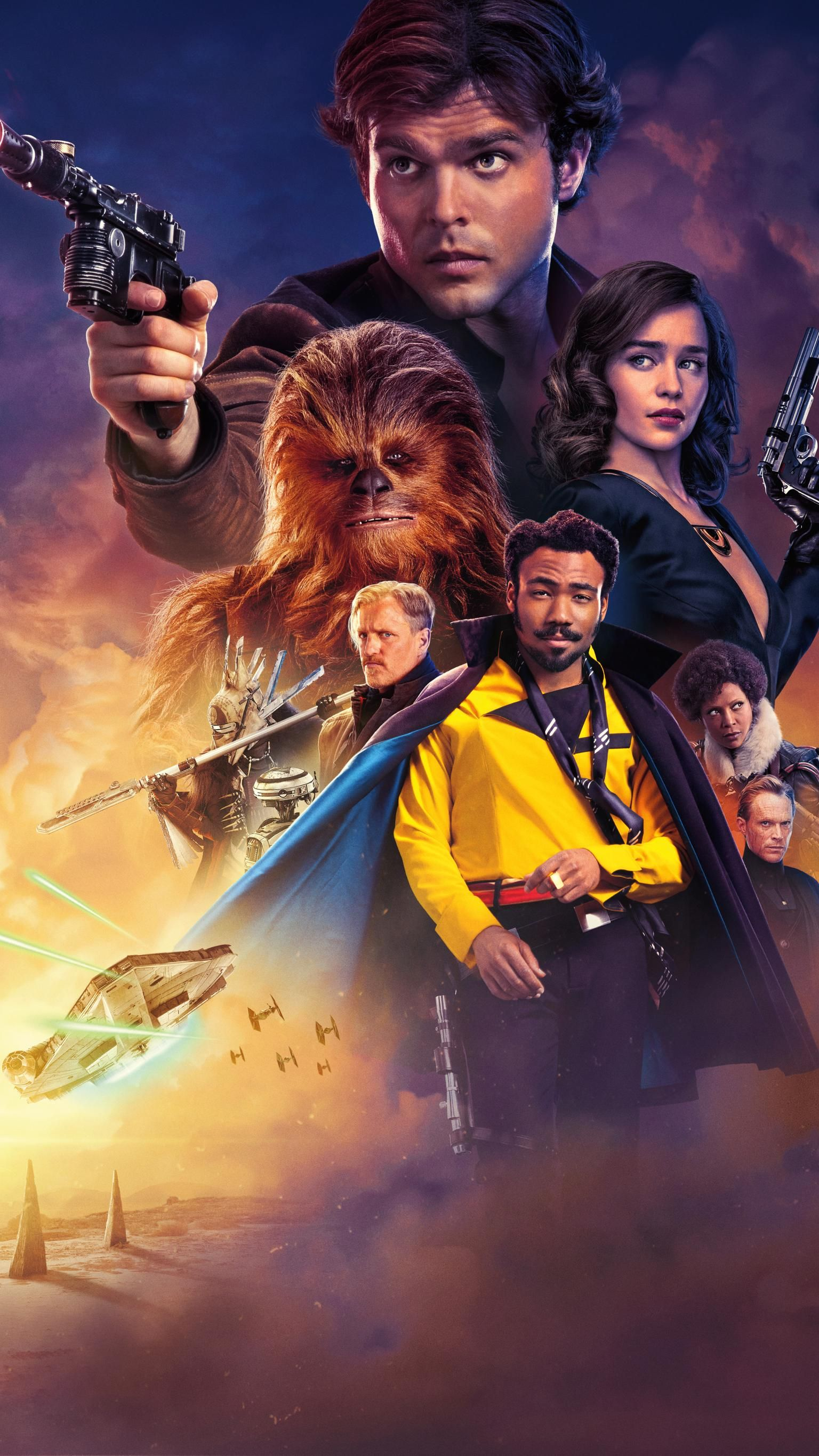 Solo A Star Wars Story 2018 Phone Wallpaper Moviemania In 2020 War Stories Star Wars Poster Free Movies Online