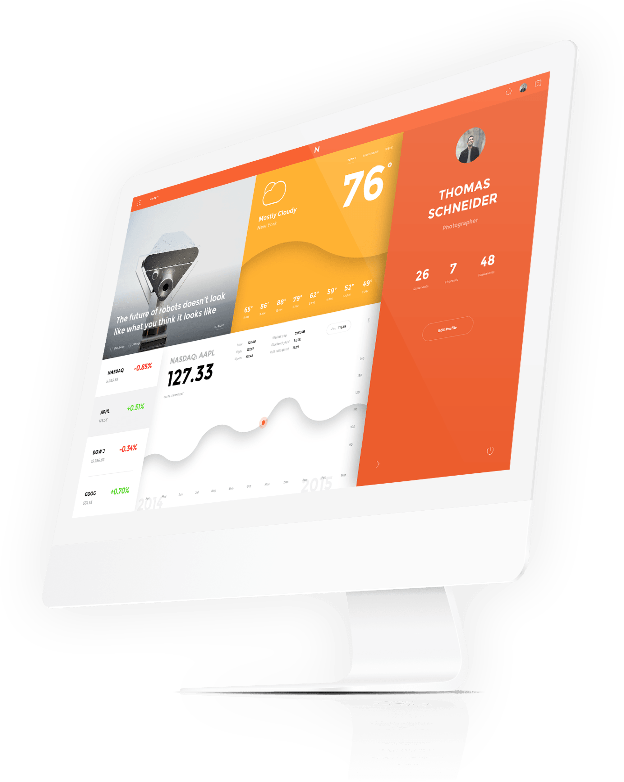 Download \'Now\' - a FREE UI kit from InVision. Get 100\'s of UI ...