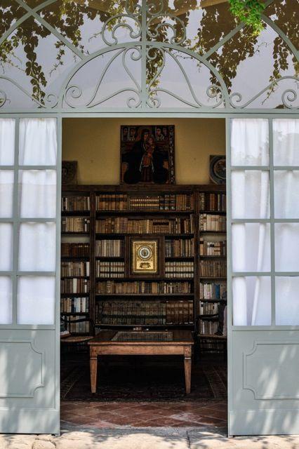 Palazzo Monti della Corte, la biblioteca | Palazzo Monti della Corte