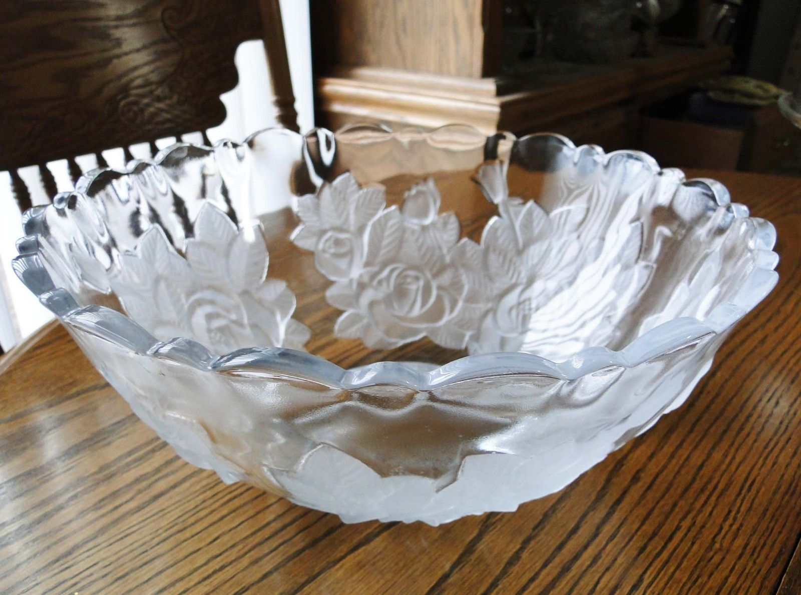 Pre owned studio nova crystal clear winter rose heart tray large pre owned studio nova crystal clear winter rose heart tray large ebay crystal vintage mikasa studio nova pinterest clear winter trays and studio reviewsmspy