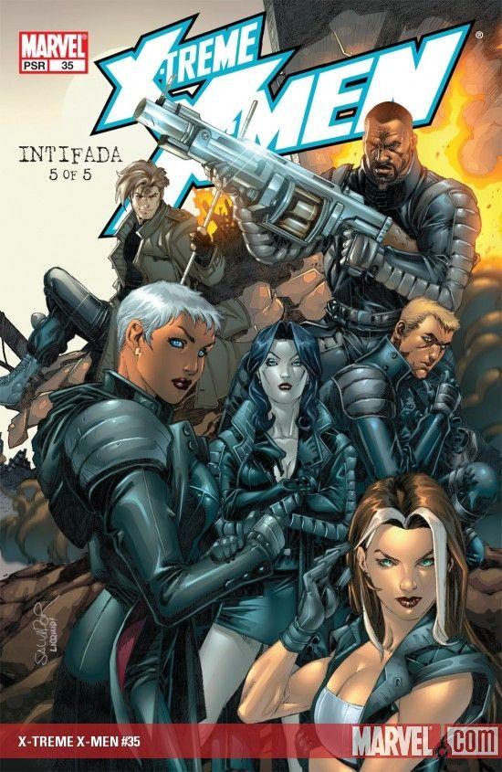 X-TREME X-MEN (2003) #35 COVER