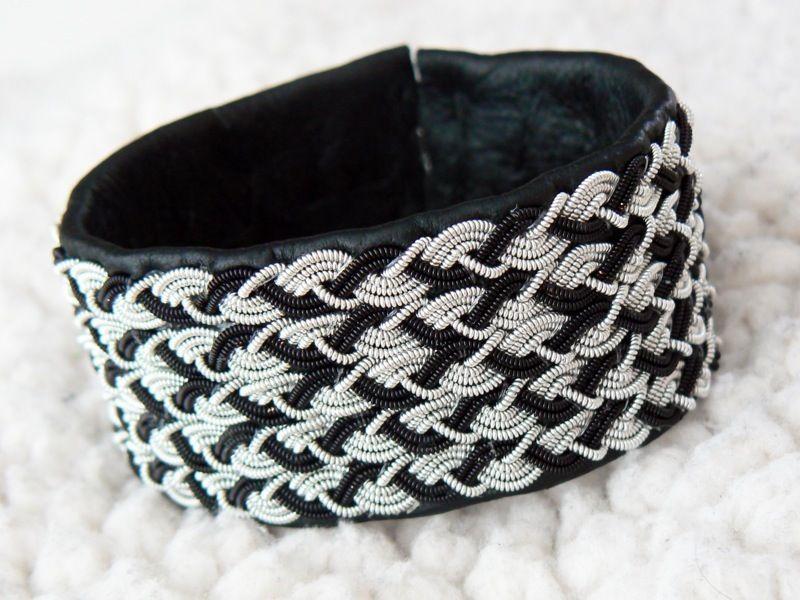 Nordschwedisches Zinndraht-Armband (Handarbeit) bei Kings of ...