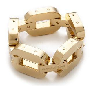 LE CATCH: the chain gang Michael kors bracelet