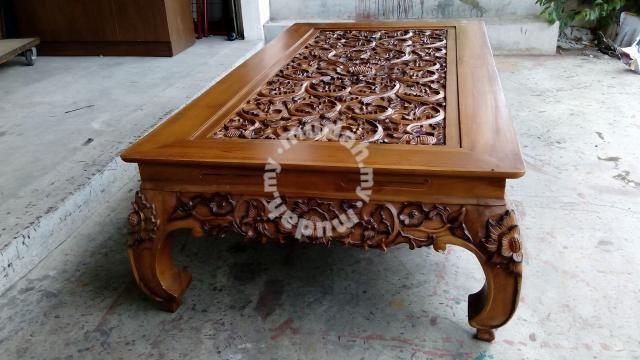 Meja Jepun Kayu Jati Furniture Decoration For In Putrajaya Selangor