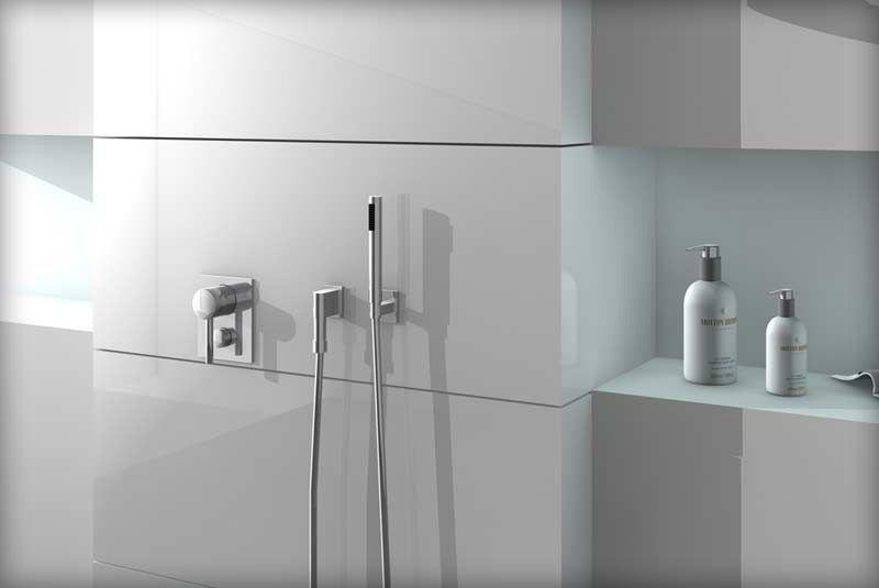 Ablage für die Dusche Dusche, Badezimmer, Ablage