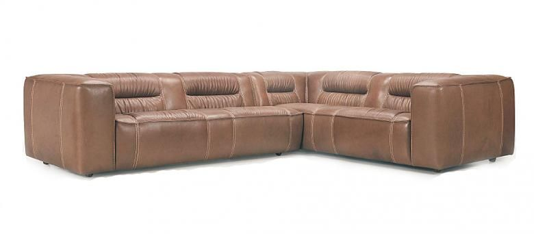 Perugia Leather Sectional : Leather Furniture Expo