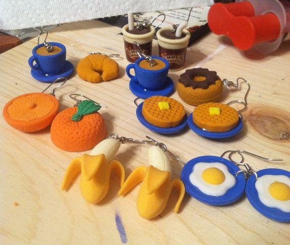 Weird Food Earrings 3
