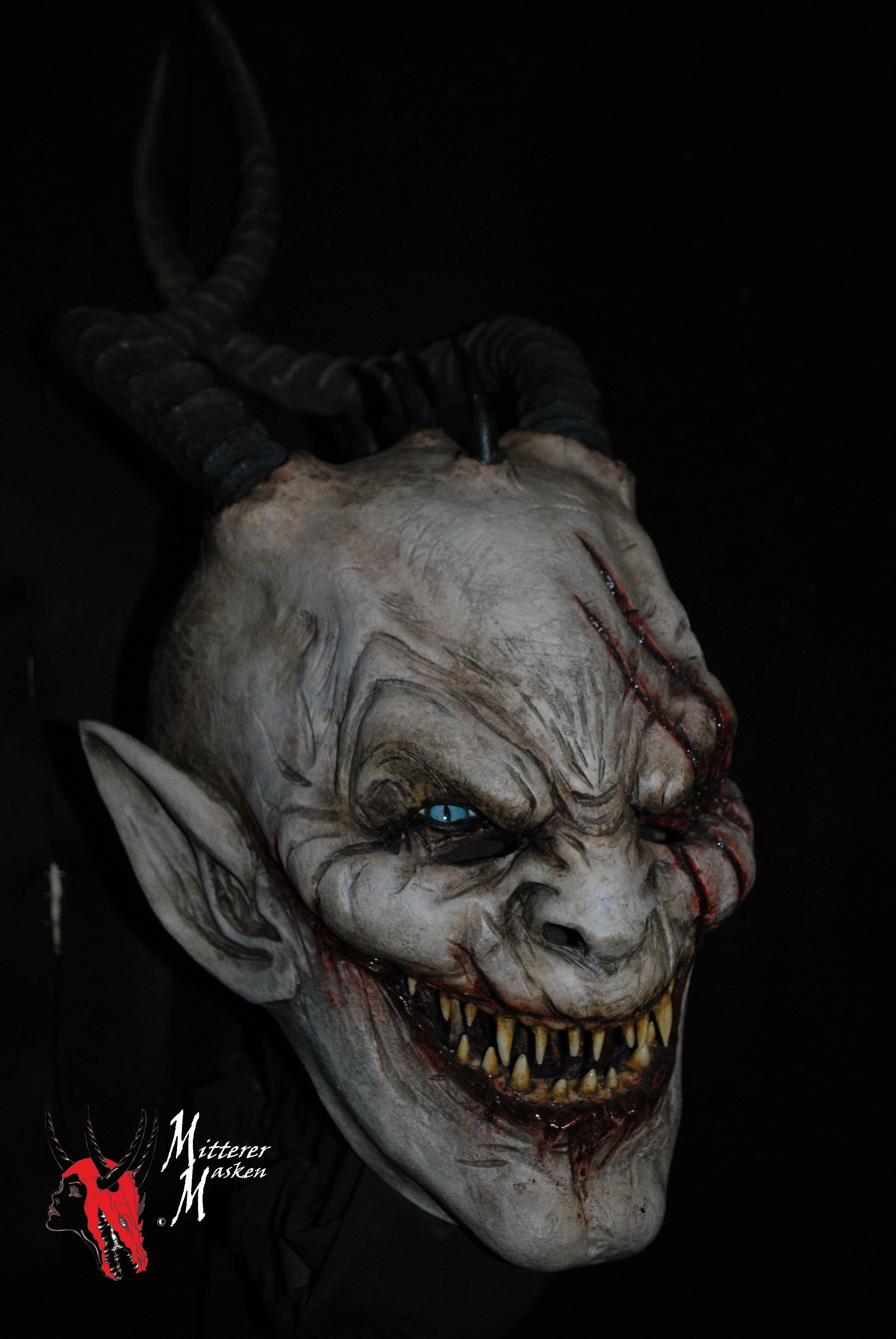 masken holzmaske wooden masks devil krampus gesichter in 2018 pinterest perchten. Black Bedroom Furniture Sets. Home Design Ideas
