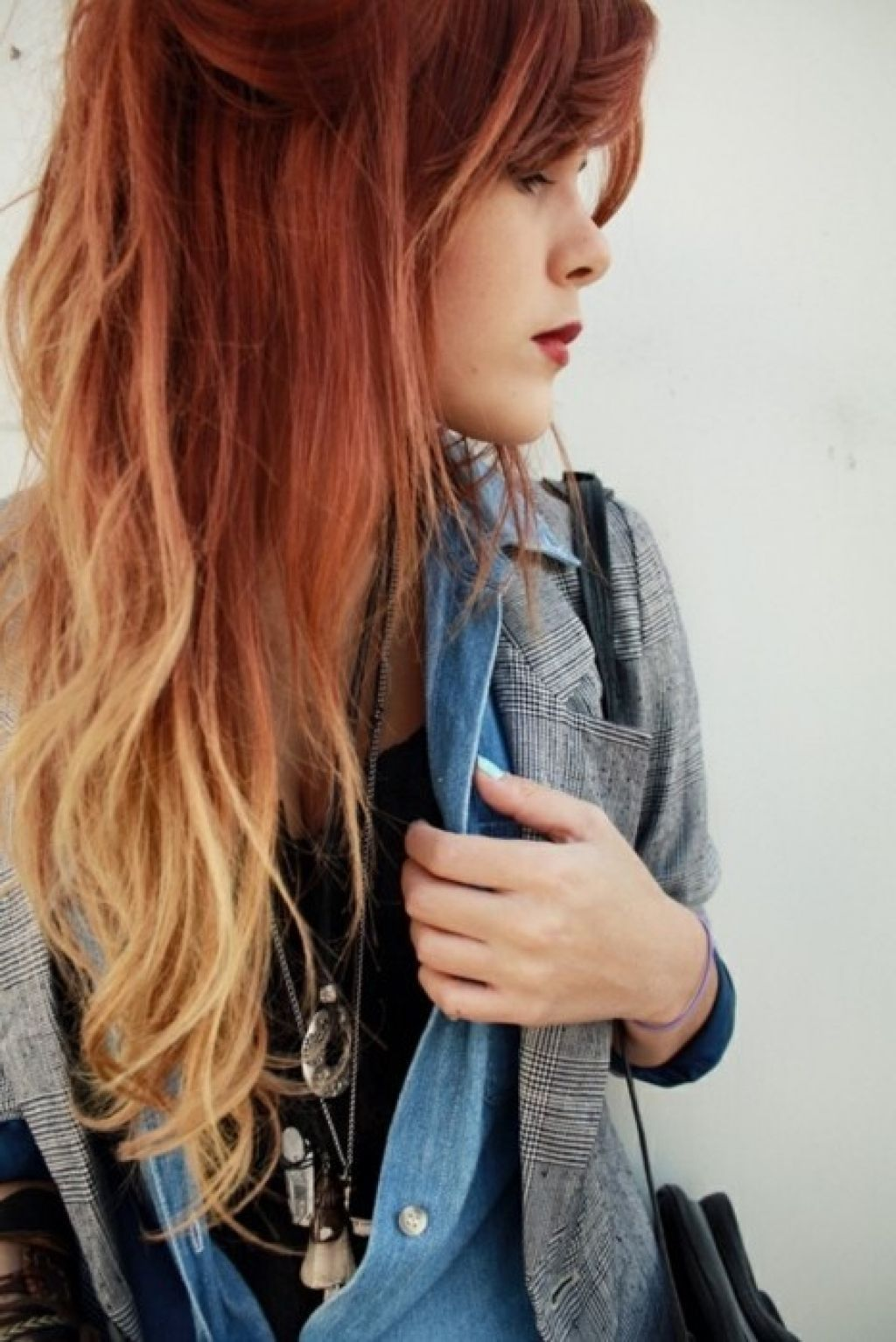 Pin By Mariya On Hair Black Red Hair Hair Color Red Ombre Red Blonde Hair