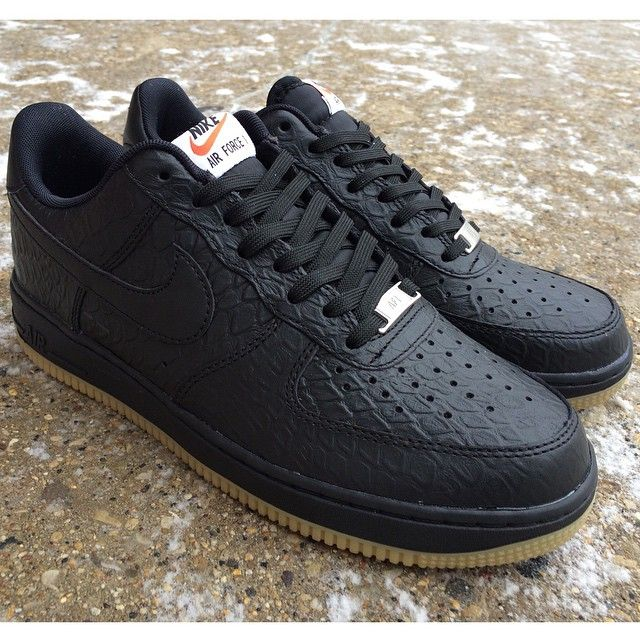 huge discount d7404 06dc9 Now available  Nike Air Force 1 07 LV8  Python  BlackGum Sole  100   In-store or by phone  414-273-3333. nike airforce1 MODA3