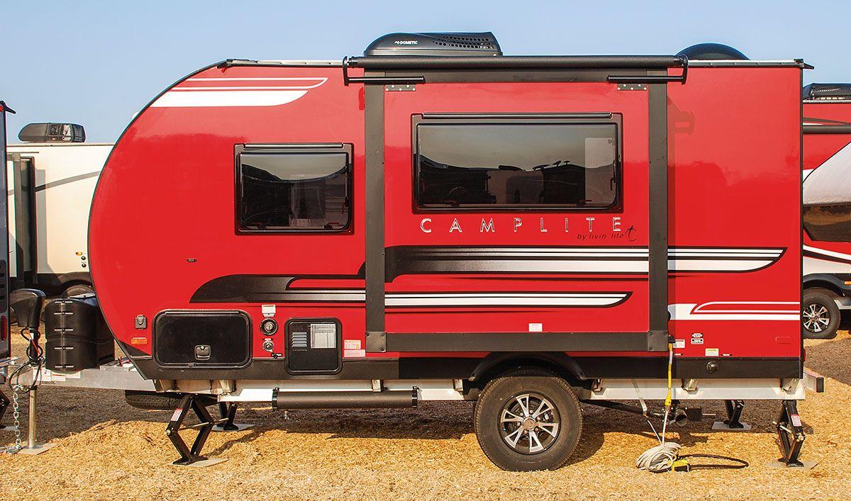 Livin Lite Camplite >> 2018 Livin Lite Camplite Cl14dbs Travel Trailer Exterior Cabins