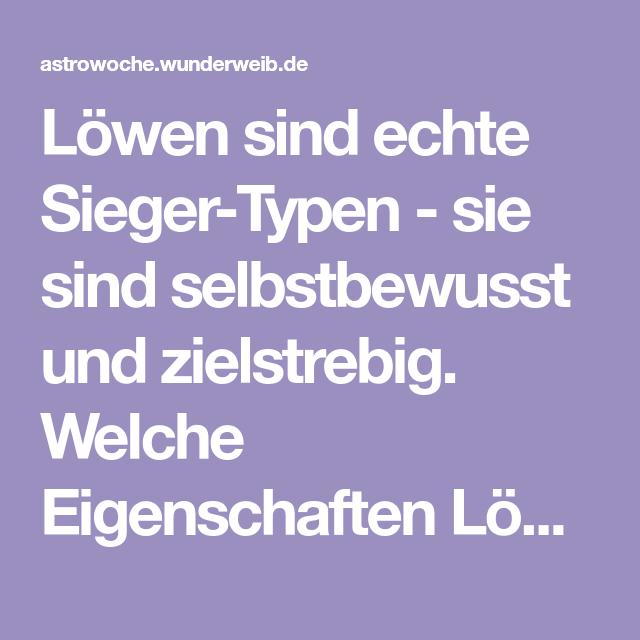 Sternzeichen Löwe - Eigenschaften, Charakter & mehr - 23.07 ...