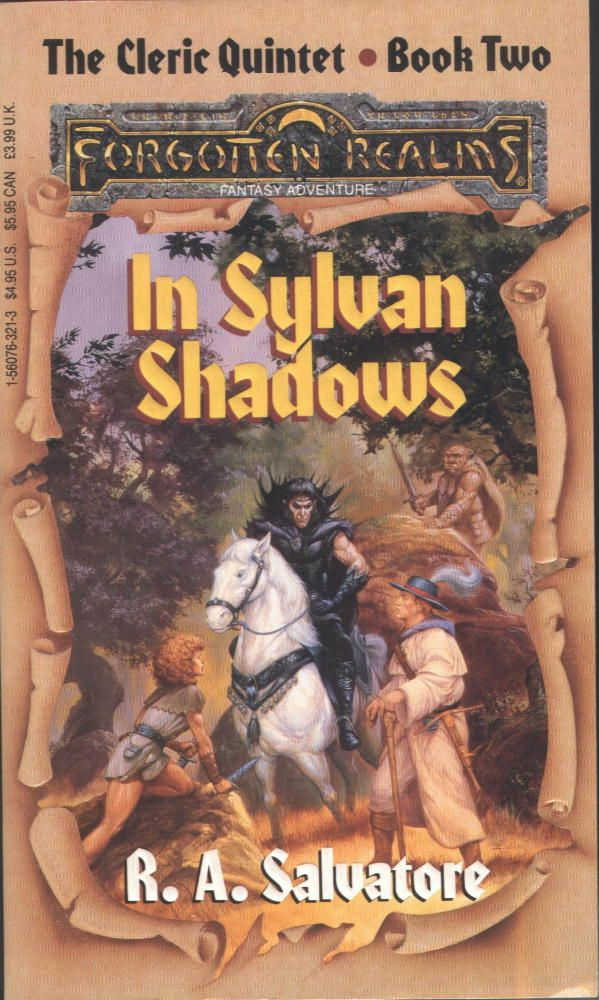 Image result for sylvian shadows ra salvatore