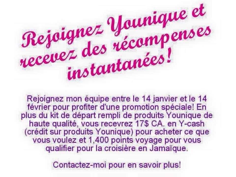 Il reste seulement 13 jours à cette promotion! #Younique #mlm #VenteDirecte #bonheur