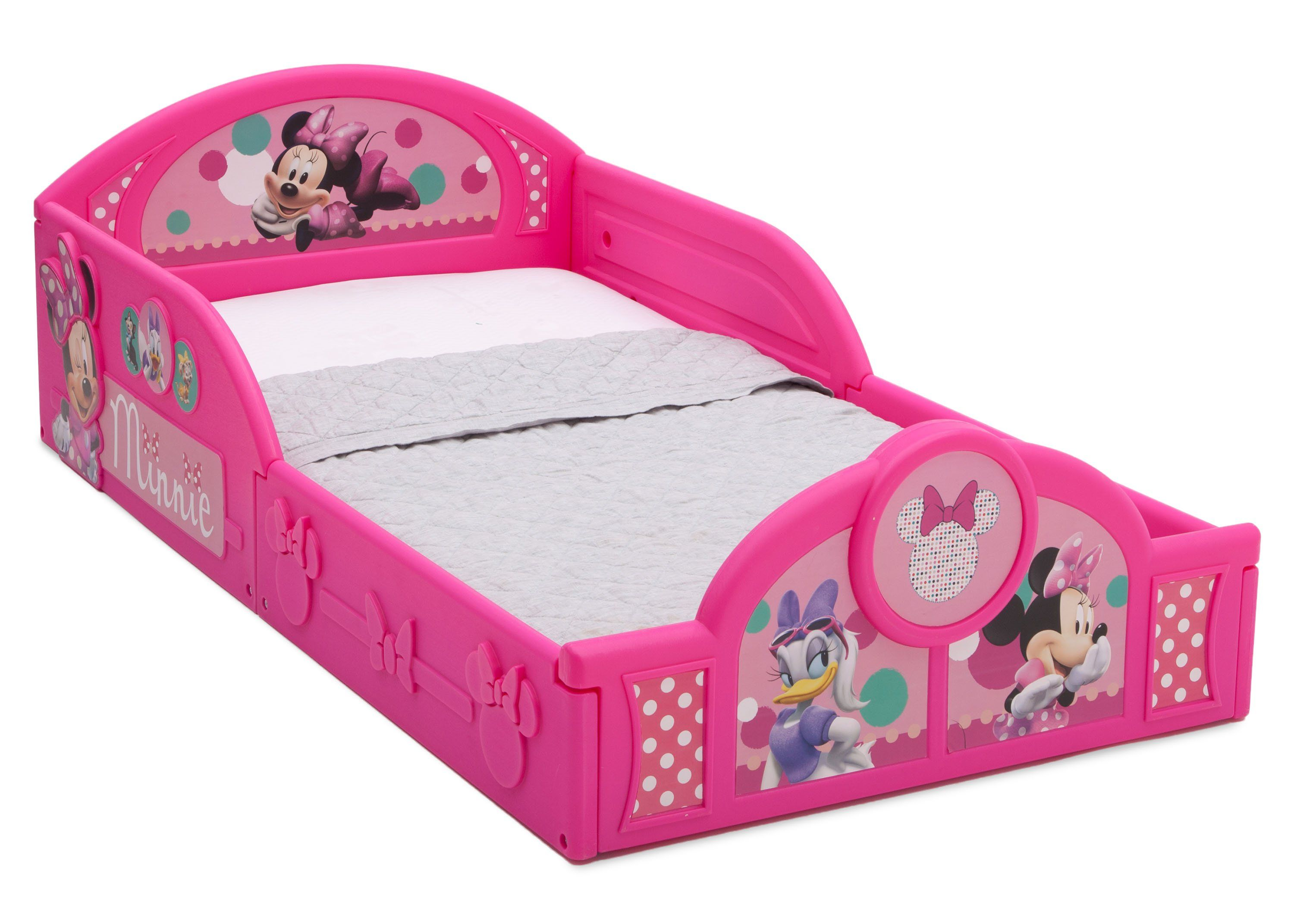 Minnie Mouse Plastic Sleep And Play Toddler Bed Minnie Mouse