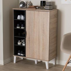 Corrigan Studio Jamar 24 Pair Shoe Storage Cabinet U0026 Reviews   Wayfair