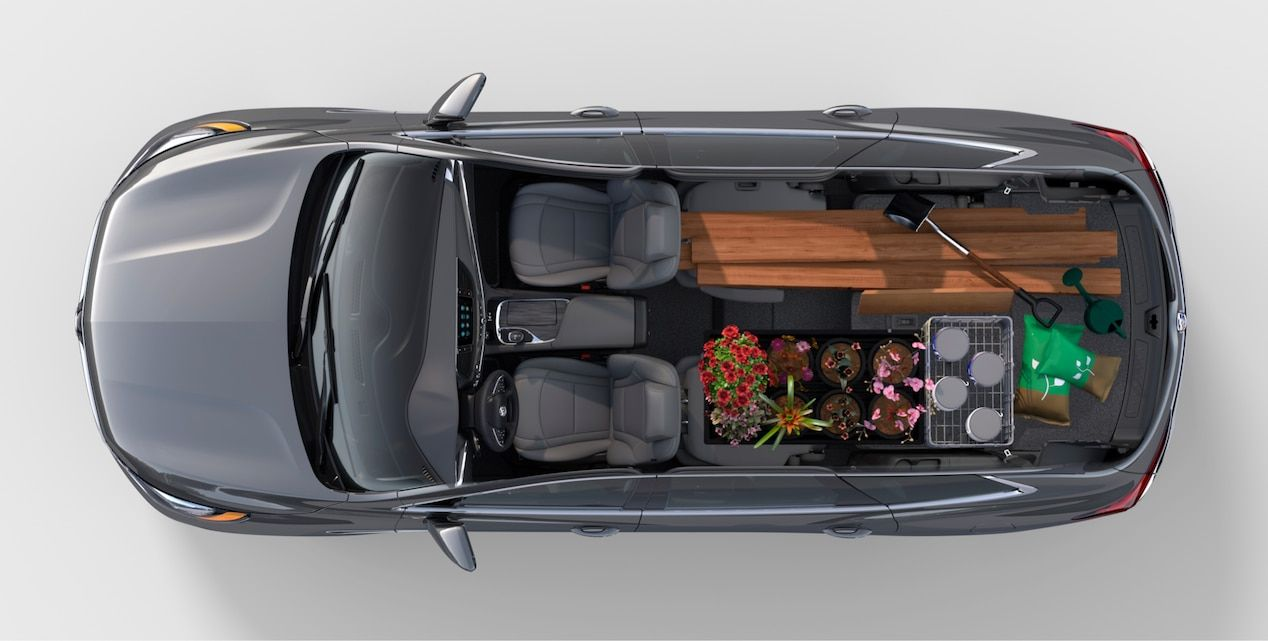 2018 Enclave midsize luxury SUV home garden. (With images