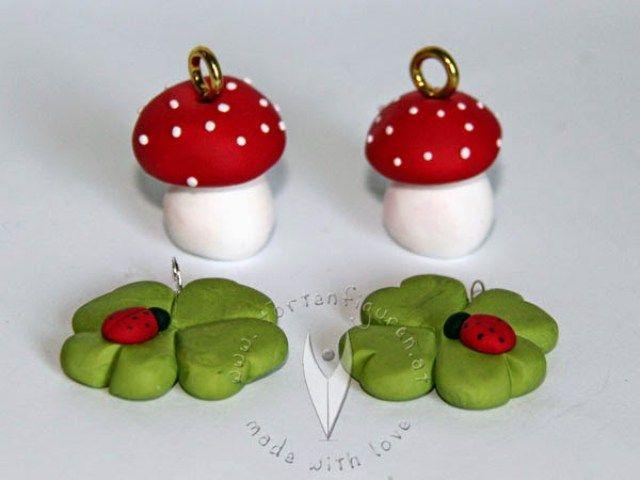 Gl cksbringer selbermachen silvester fig rler fimo for Silvester tischdeko ideen