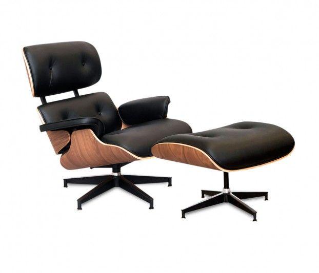 Silla replica Eames Lounge Ottoman - Sofás - Muebles | diseño ...