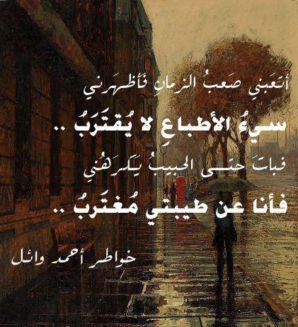 اشعار عن التعب في الدنيا Wise Words Arabic Quotes Words