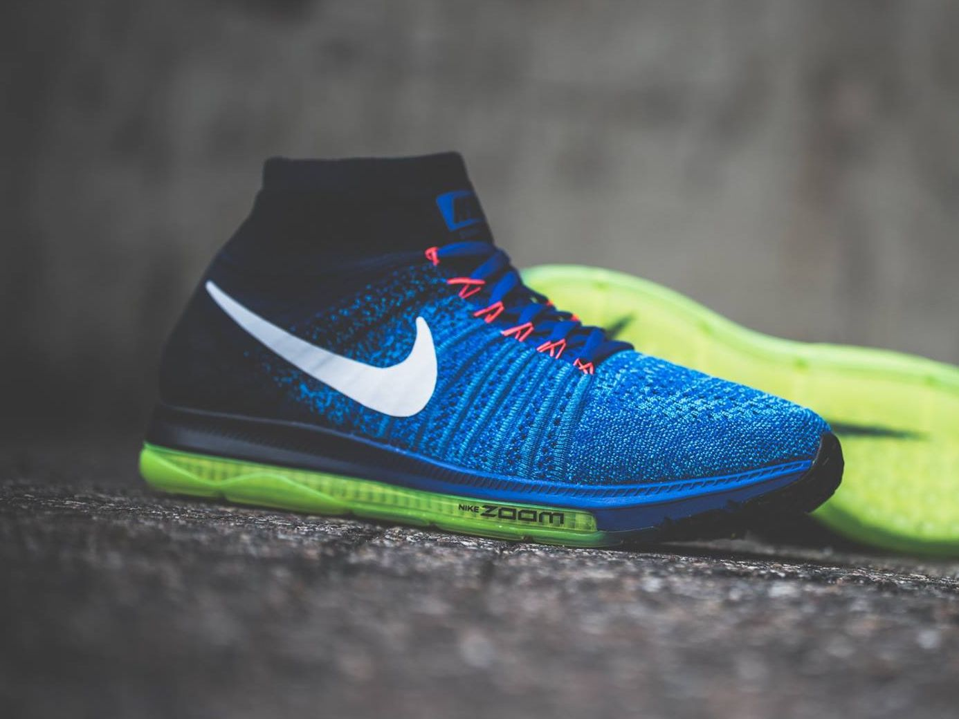 Nike Zoom All Out Flyknit Blue