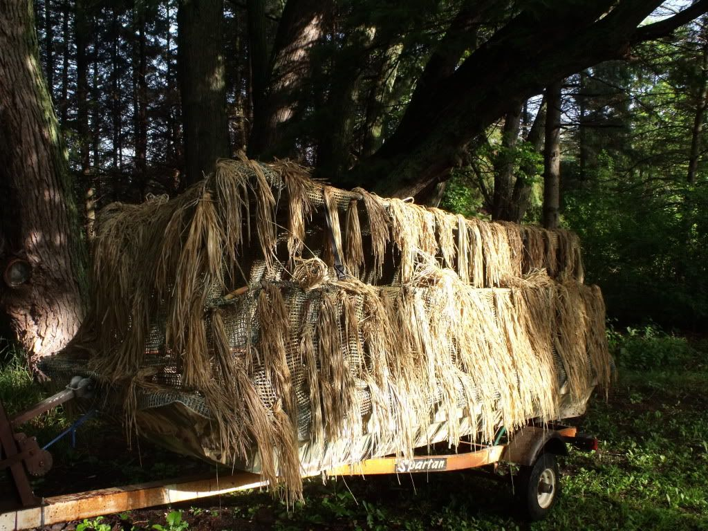 How to make a duck blind for your boat 101 | Hunting | Pinterest ...