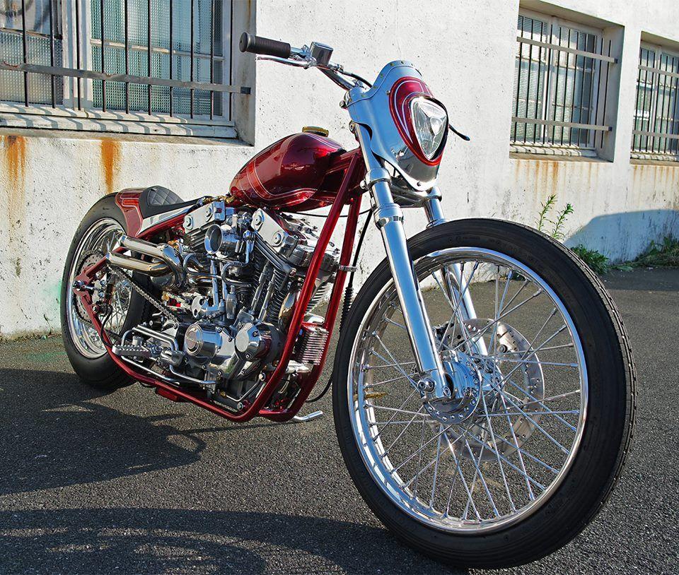 Custom Harley-Davidson XL Sportster by Purple Panthera | Modified ...