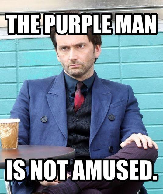 e3fa00862316797d1f8b4e3cd75ad2e8 the purple man is not amused jessica jones meme david tennant