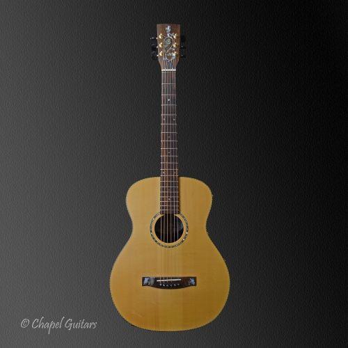 Handmade By Chapel Guitars Uk Guitar Music Instruments Acoustic Guitar