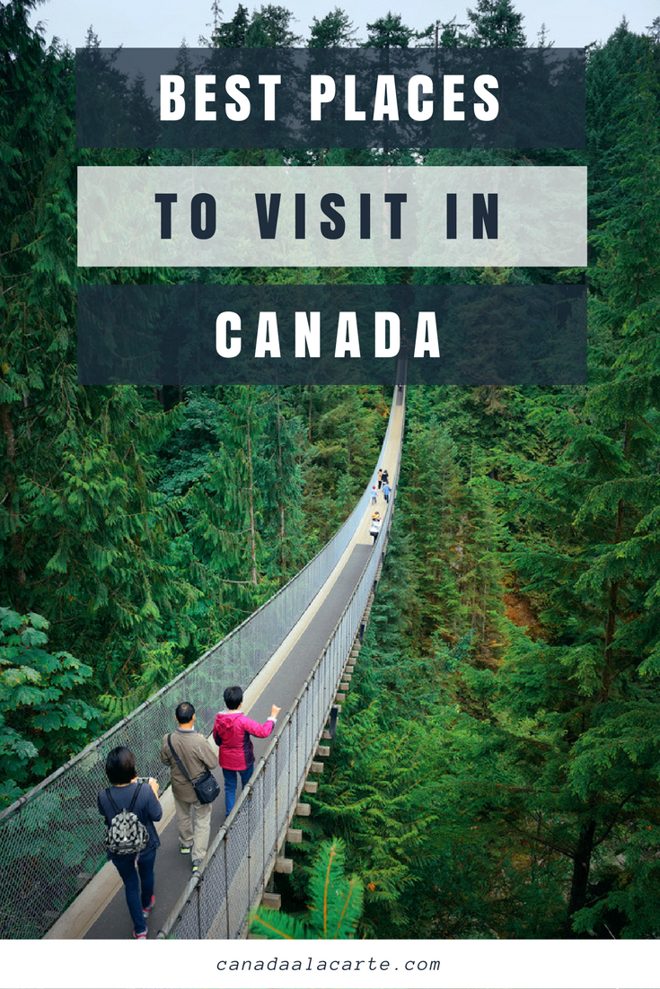 Carte Canada Region.Best Places To Visit In Canada Canadian Destinations By Region