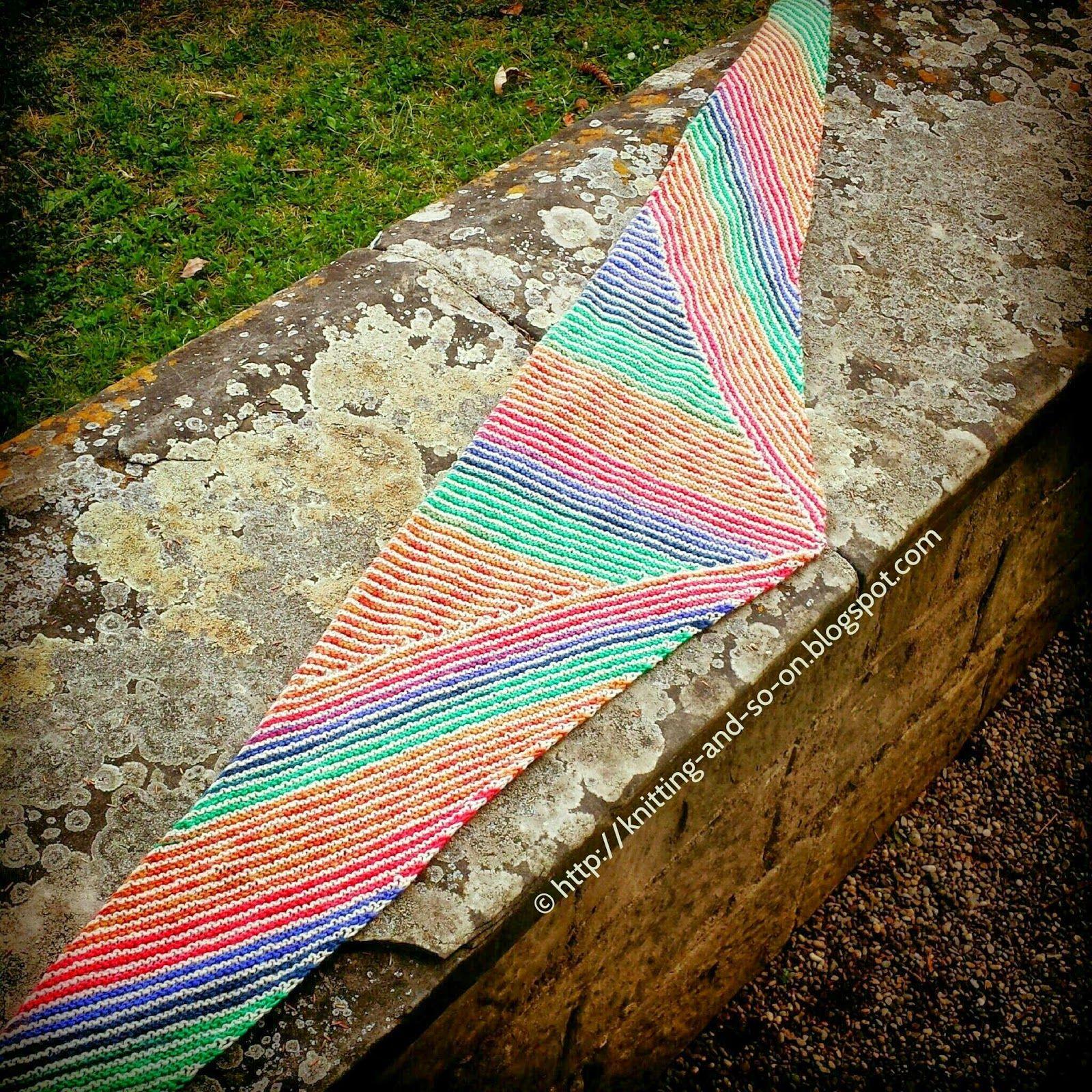 Gratis-Strickanleitung: Streifen, Streifen und Streifen Schal   DIY ...