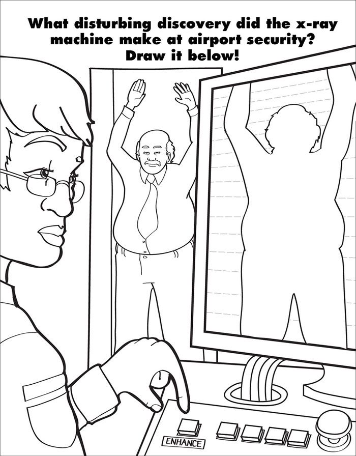 Coloring Book For Grown Ups Draw Who You Thought Youd Be