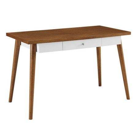Home Office 48 inch Mid-Century Wood Computer Desk, Brown Products