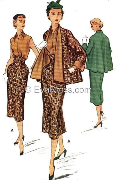 May 26th Suit Up Swing Style: 1952 Halter, Skirt & Jacket SE50-9113 In 2020