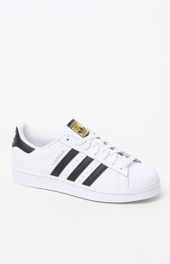adidas Womens Superstar Black & White Sneaker | Zapatillas ...