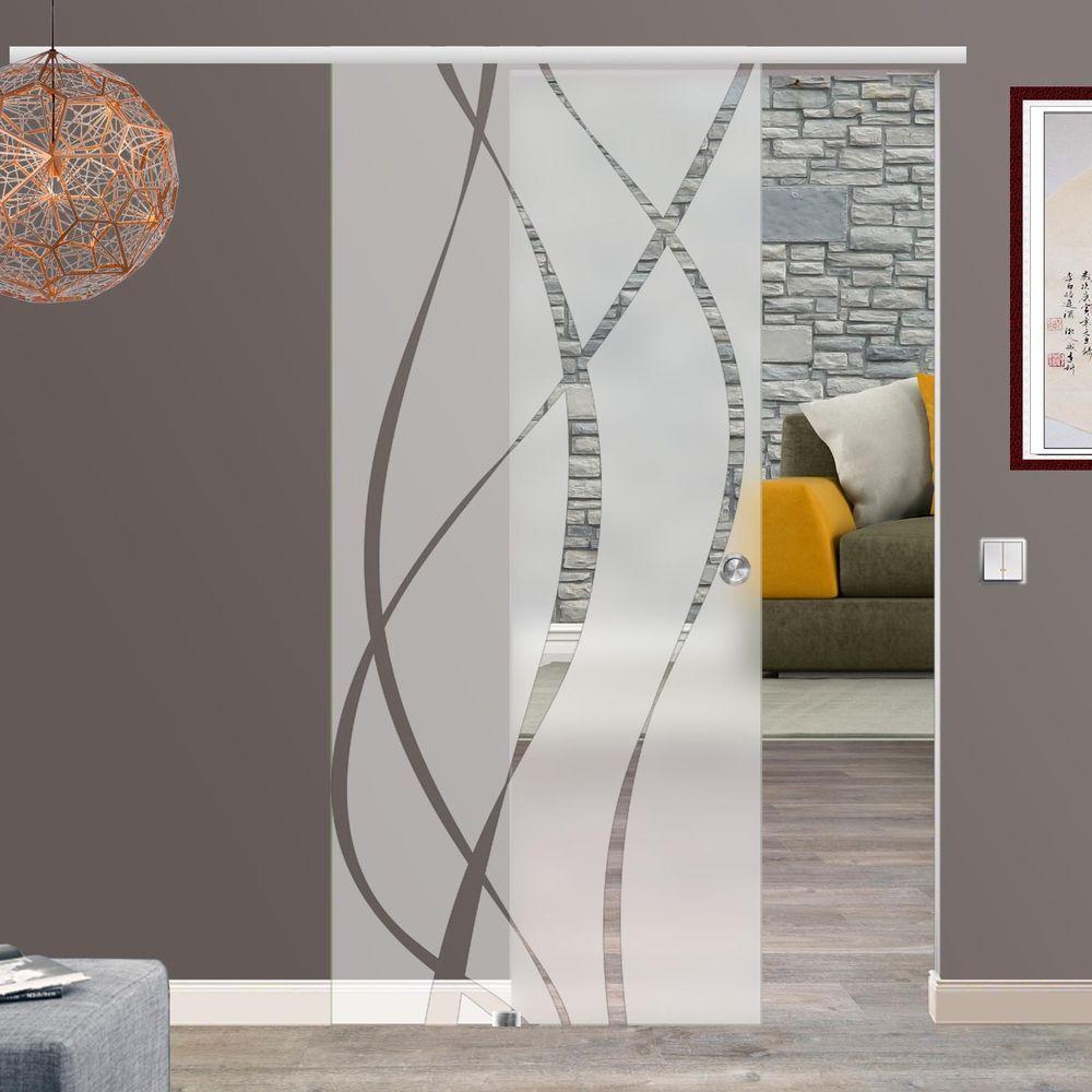 soft close selbsteinzugglasschiebet r glas schiebet r. Black Bedroom Furniture Sets. Home Design Ideas
