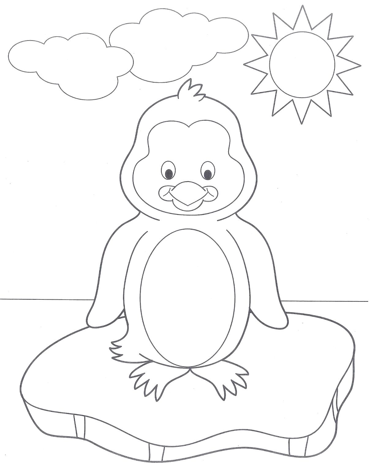 48+ Cute baby penguin coloring pages ideas