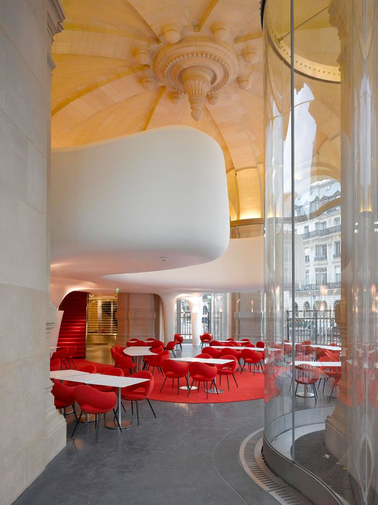 Restaurant of the Garnier Opera - Design by Odile Decq - 1, Place Jacques  Rouch