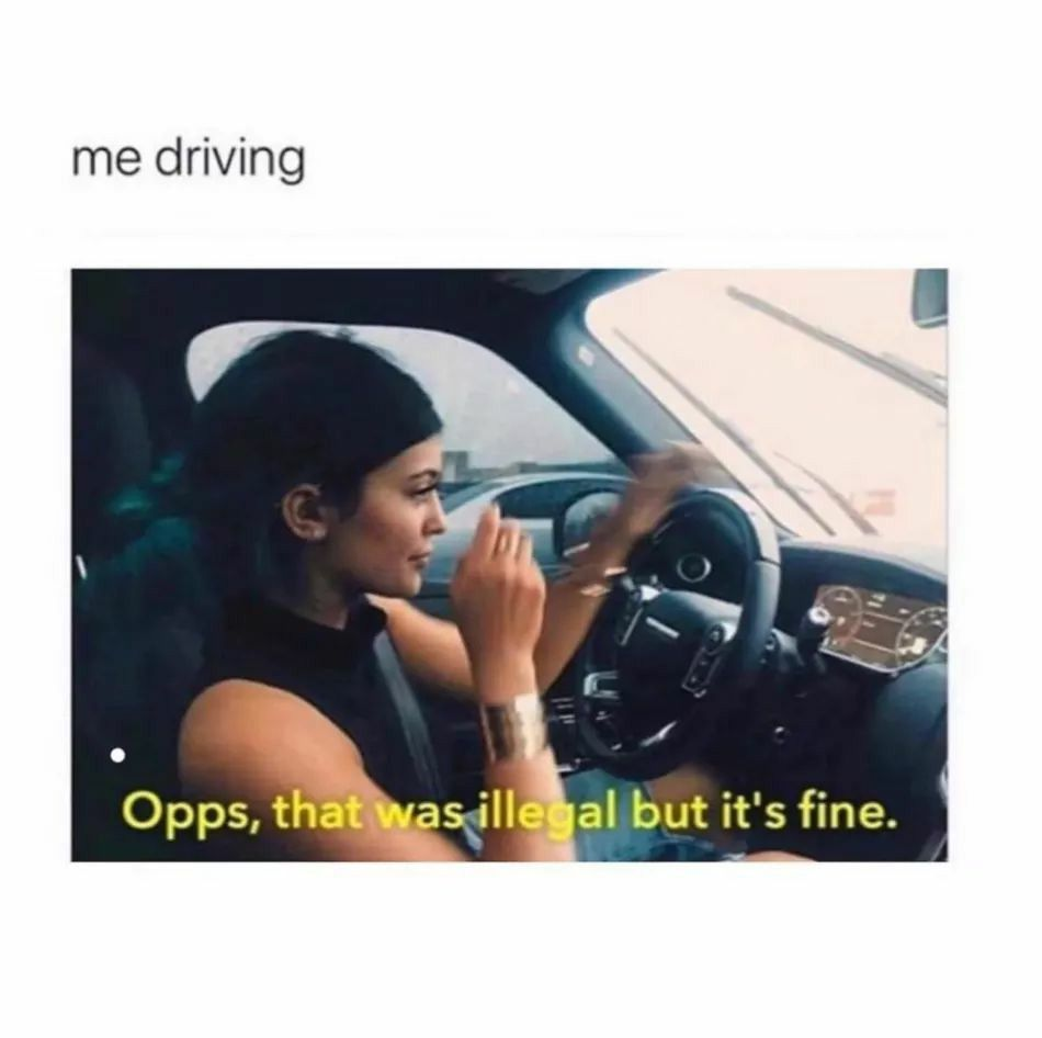 Pin By Lauren Smith On Funnies In 2020 Bad Drivers New Drivers Giggle
