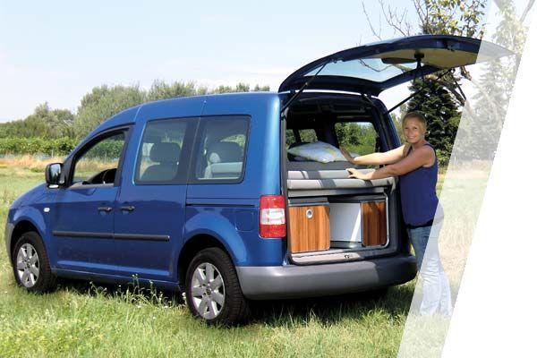 minicamper reimo active auf vw caddy kurzer oder langer. Black Bedroom Furniture Sets. Home Design Ideas