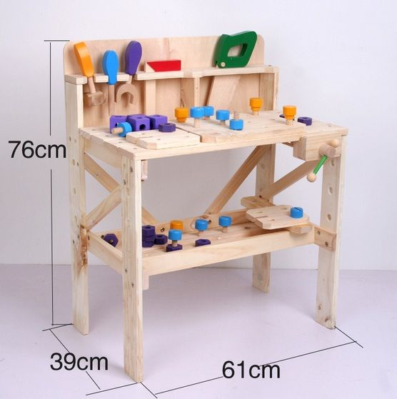 Play Workbench For Toddlers Wood Work Bench Funlandia Playground