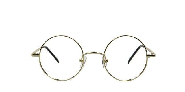 L'usine à lunettes by polette 1920 gold Métal
