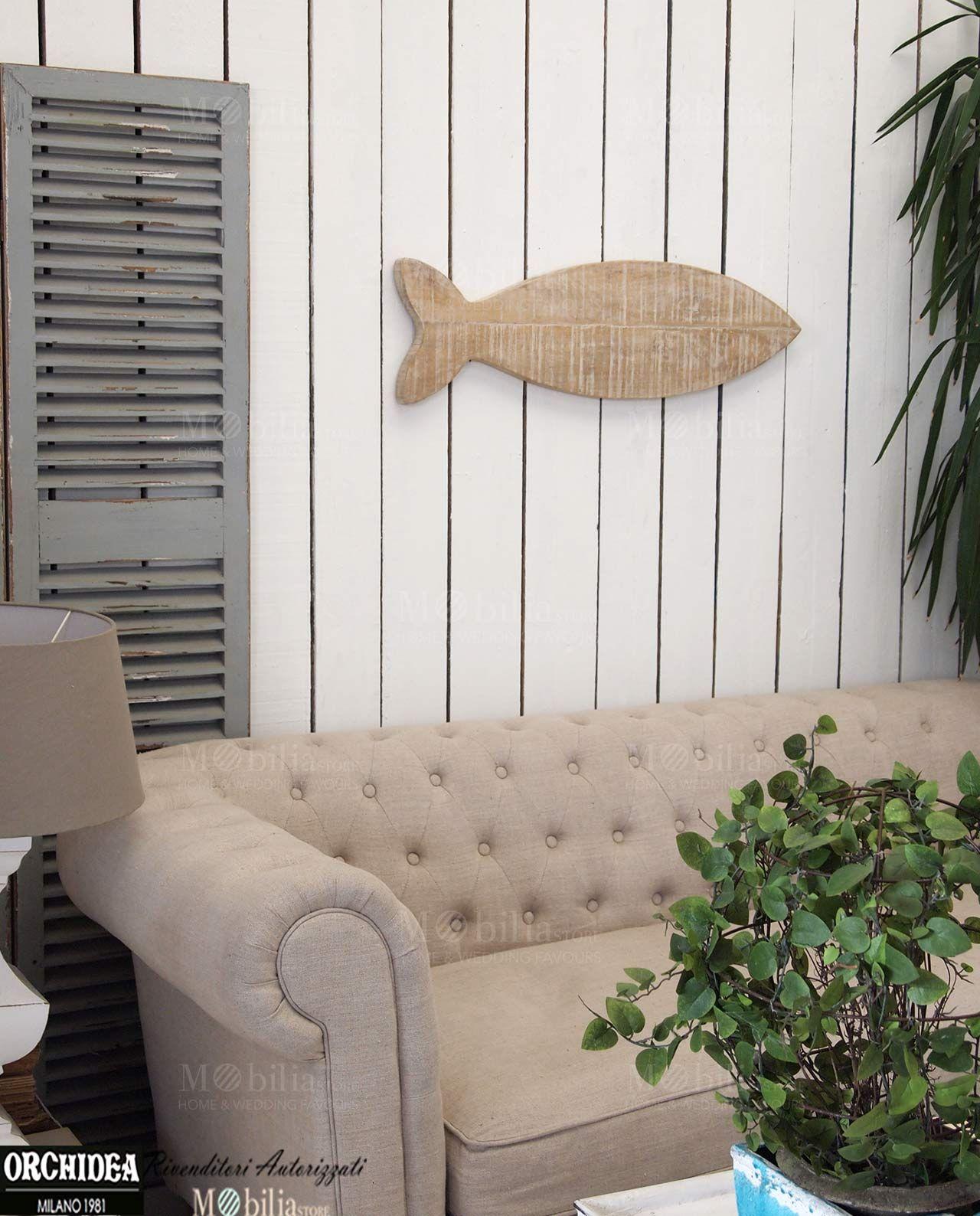 Pannelli Decorativi da Parete realizzati in legno massello di mango, perfetti per arredare la tua casa in Stile Marinaro. Scopri le eccezionali promo su Mobilia Store
