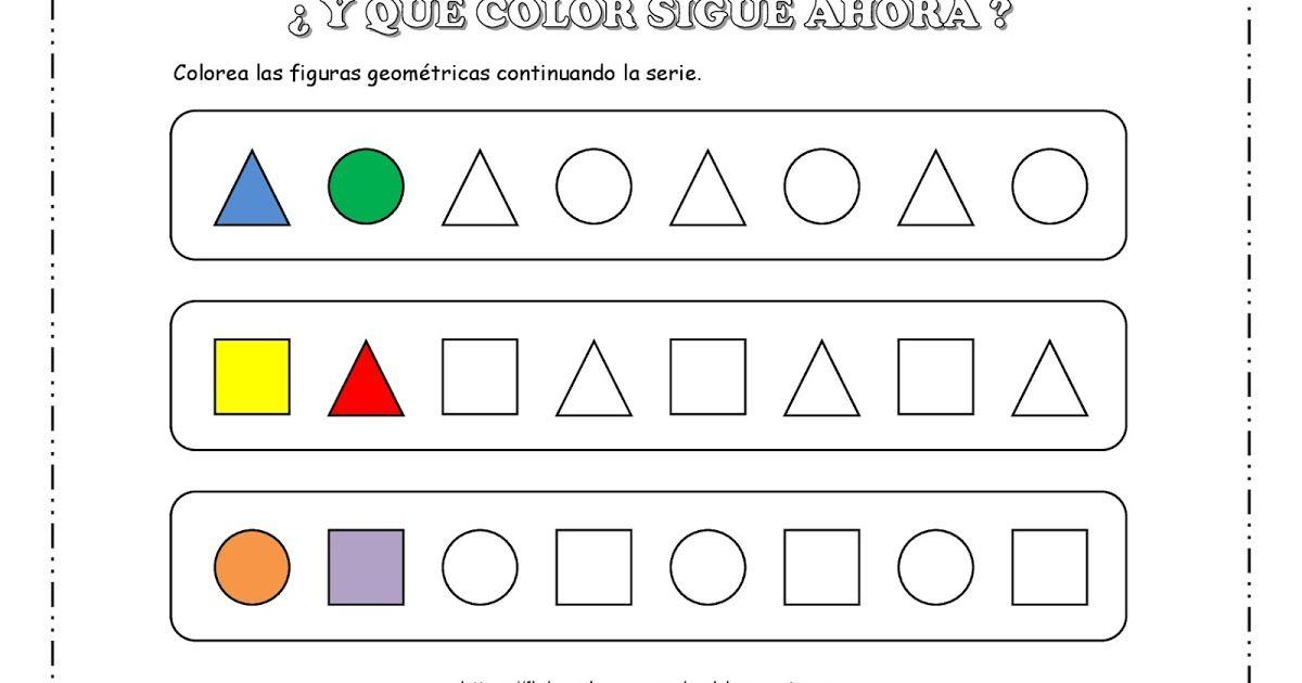 Y Que Color Sigue Ahora Seriacion Por Color Seriacion