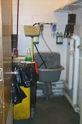 Janitor Closet Utility Closet Keep It Cleaner Cleaning