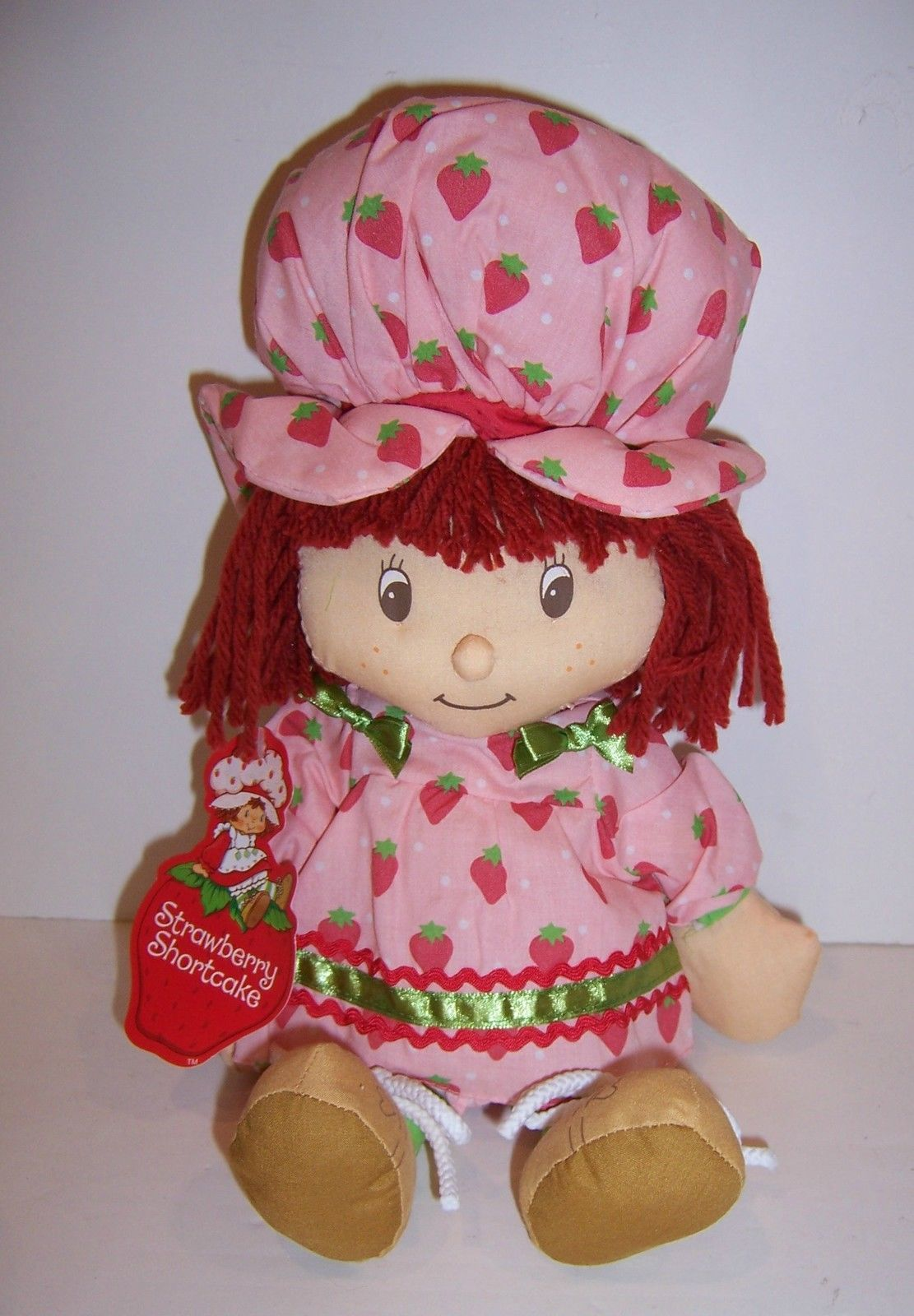 Vintage Strawberry Shortcake de felpa de 13 Vestido Rosa Con Aroma ...
