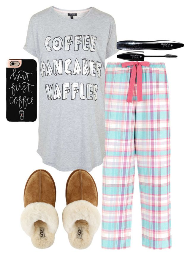 """""""Guys we are almost at 300!!"""" by legitmaddywill ❤ liked on Polyvore featuring Accessorize, Topshop, UGG Australia, Casetify and Lancôme"""