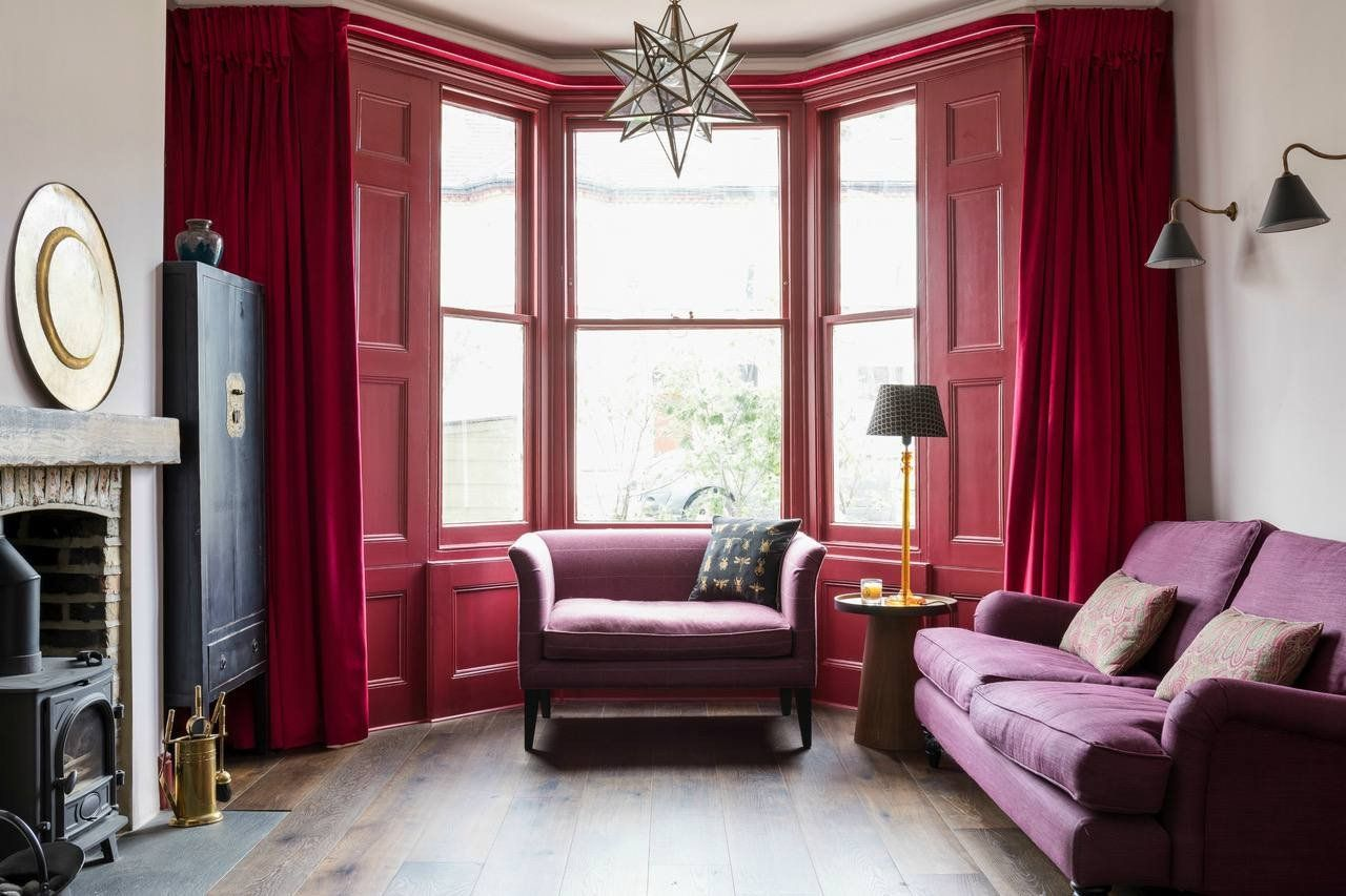 Red And Black Living Room Decorating Ideas Beautiful 19 Gorgeous Living Room Color Schemes For Every In 2020 Purple Living Room Minimalist Living Room Living Room Red #red #black #and #white #living #room #decorating #ideas